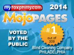 Voted # 1 Blind Cleaning Company in Philadelphia
